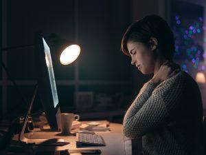 chiropratica postura in ufficio