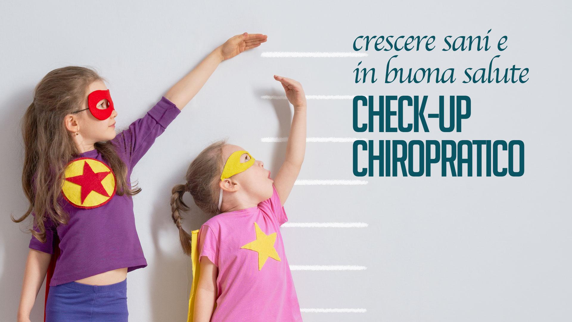 crescere sani e in buona salute con la chiropratica